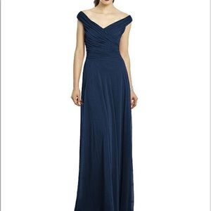 After Six Bridesmaids style 6667- midnight blue